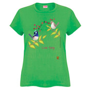Birds Love Song - Ladies Fashion Tshirt
