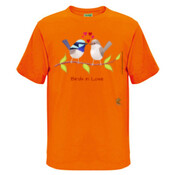 Birds in Love - Kids Surf Tee