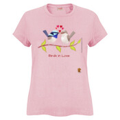 Birds in Love - Ladies Surf Tshirt