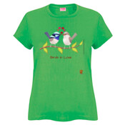 Birds in Love - Ladies Fashion Tshirt