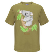 Cuddly Koala with cute Baby Origami - Kids Surf Tee