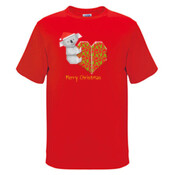 Koala Origami and its Heart gift wrapped for Christmas - Mens Surf Style TShirt - JK Christmas Mens Surf Style TShirt