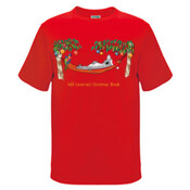 Well Deserved Christmas Break - Koala Relaxing on Hammock  - Kids Regular Surf Style Tee