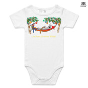 Love Busy Christmas Holidays! - ASColour Baby Onesie