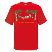 Love Busy Christmas Holidays! - Mens Surf Style TShirt
