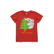 Christmas Origami Koala and cute baby - ASColour Small Kids T-Shirt