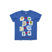 Who eats what? (Boy) - ASColour Small Kids T-Shirt