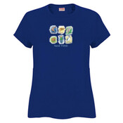 Aussie Friends (Boy) - JK Christmas Ladies Surf Tshirt