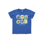 Aussie Friends (Boy) - ASColour Small Kids T-Shirt