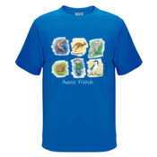 Aussie Friends (Boy) - Kids Regular Surf Style Tee