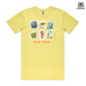 Aussie Friends (Girl) - ASColour Men's Staple Tee