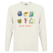 Aussie Friends (Girl) - Men's 'Sportage Hawkins' Long Sleeve Tee