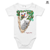 Hugging Wish - ASColour Baby Onesie