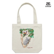 Hugging Wish - Canvas Tote Carry Bag