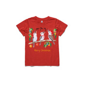 Kookaburras Australian Christmas Carols - ASColour Small Kids T-Shirt