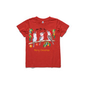 Kookaburras Australian Christmas Carols - ASColour Youth T-Shirt