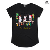 Kookaburras Australian Christmas Carols - ASColour Ladies Mali T Shirt