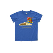Platypus and Christmas Gifts - ASColour Small Kids T-Shirt