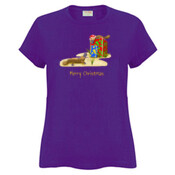 Platypus and Christmas Gifts - Sportage Ladies Surf Style T Shirt