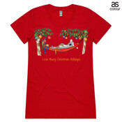 Love Busy Christmas Holidays! - ASColour Ladies Wafer TShirt
