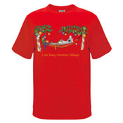 Love Busy Christmas Holidays! - Kids Regular Surf Style Tee
