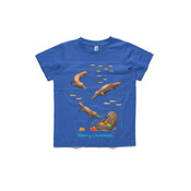 Platypus Christmas Treasure - ASColour Small Kids T-Shirt
