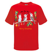 Kookaburras Australian Christmas Carols - Kids Regular Surf Style Tee
