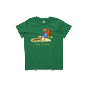 Platypus and Christmas Gifts - ASColour Youth T-Shirt