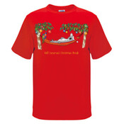 Well Deserved Christmas Break - Koala Relaxing on Hammock  - Mens Surf Style TShirt