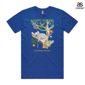Sleeping Christmas Koala - ASColour Men's Staple Tee