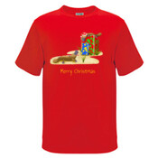 Platypus and Christmas Gifts - Kids Regular Surf Style Tee