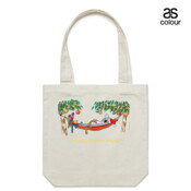Love Busy Christmas Holidays! - Canvas Tote Carry Bag