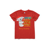 Koala Origami and colorful Christmas Gift boxes - ASColour Youth T-Shirt