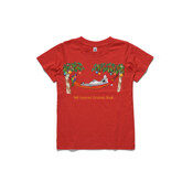 Well Deserved Christmas Break - Koala Relaxing on Hammock  - ASColour Youth T-Shirt