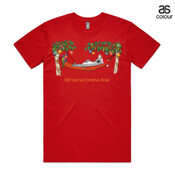 Well Deserved Christmas Break - Koala Relaxing on Hammock  - ASColour Men's Staple Tee