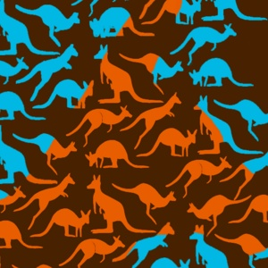 Modern Kangaroo T-Shirt Design Highlight