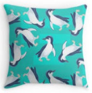 Jumping Kangaroo Designs Pillows